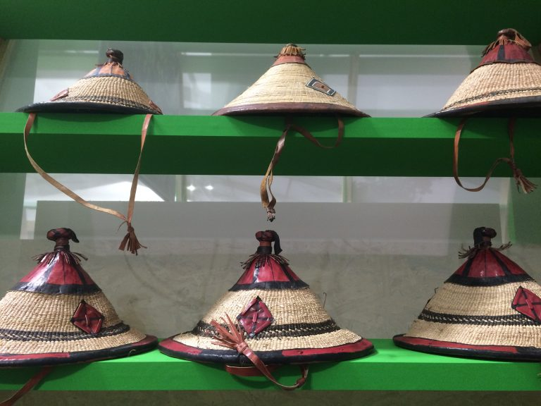 Indigenous handcrafts showcased at the Indigenous pavilion.