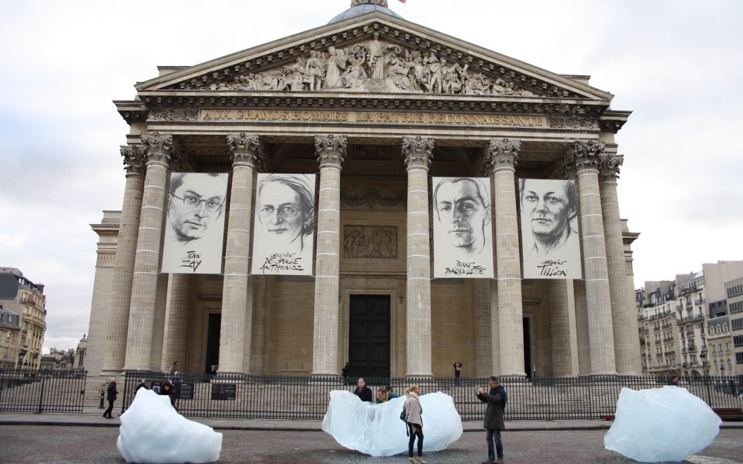 Ice Watch at COP 21